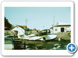 N1583V S/N 1125. This was the first Grumman Goose purchased by Kodiak Airways. It was purchased from Catalina Airlines in 1956. It is pictured here in Kodiak with the original Catalina Air Paint scheme.